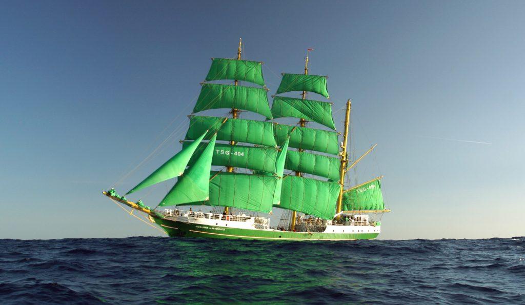 3 Mast Bark ALEXANDER VON HUMBOLDT 2 auf See