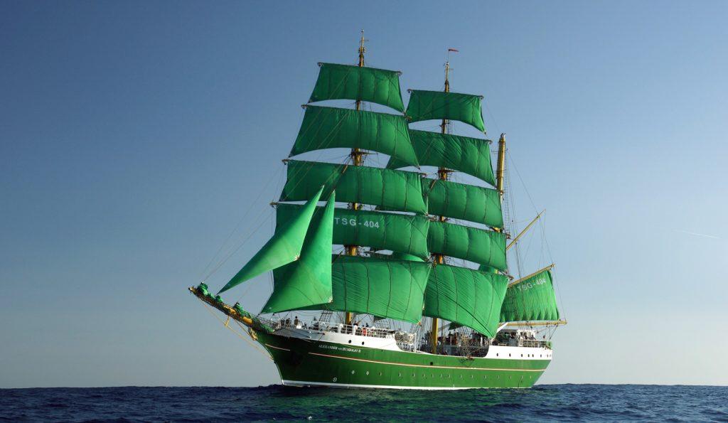 3 Mast Bark ALEXANDER VON HUMBOLDT II Backbord