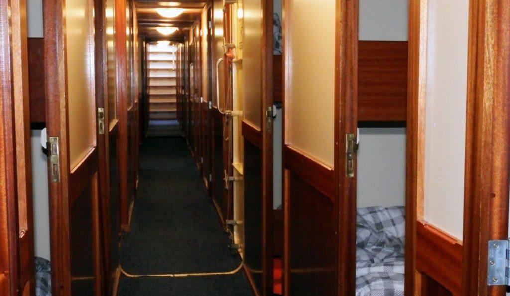 2 Mast Schoner Noorderlicht unter Deck