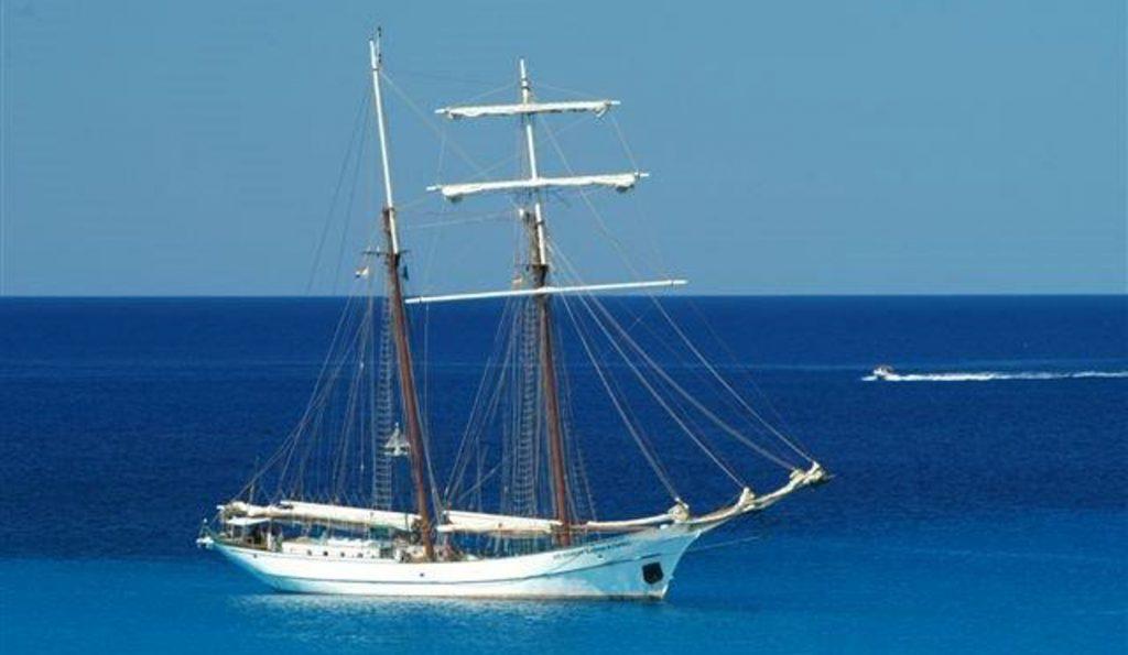2 Mast Topsegelschoner Sir Robert Baden Powell auf See