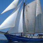 Segelurlaub: Europa STORTEMELK Produktbild zeigt den 2 Mast Schoner segelnd von Backbord.