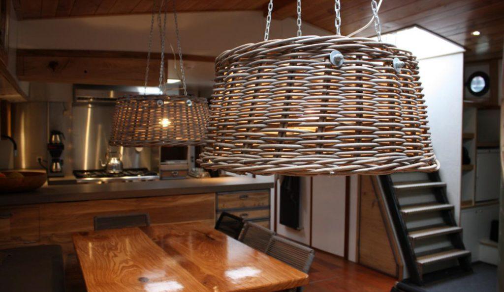 2 Mast Klipper Wilhelmina unter Deck