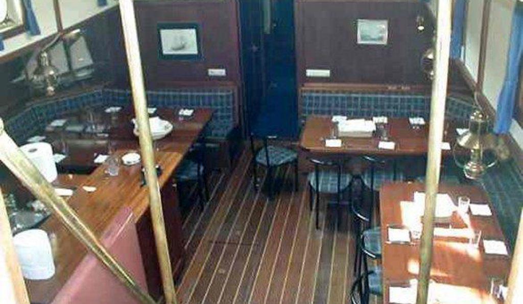 2 Mast Schoner Zuidersee unter Deck