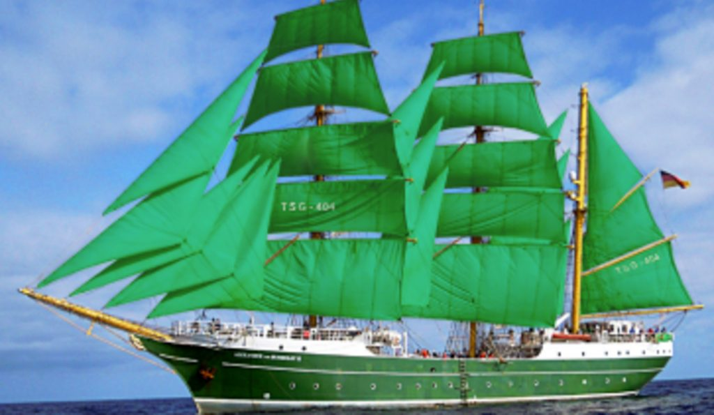 3 Mast Bark ALEXANDER VON HUMBOLDT II