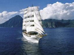 Meilentoerns Sea Cloud Bild zeigt das Schiff unter vollen Segeln