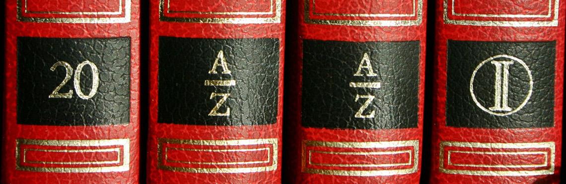 Das AGB Beitragsbild zeigt eine Reihe von Büchern