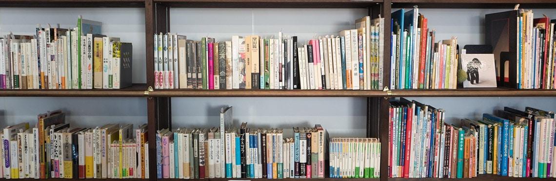 Seefahrer Lexikon Beitragsbild zeigt eine Fotografie eines gut gefüllten Bücherregales