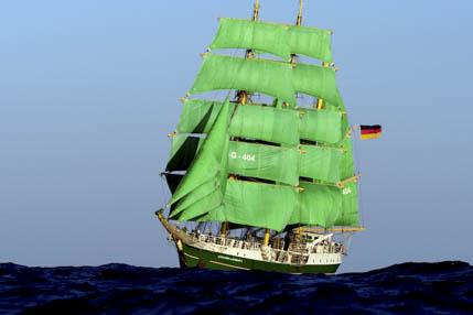 Einlaufparade Hamburg Alex II