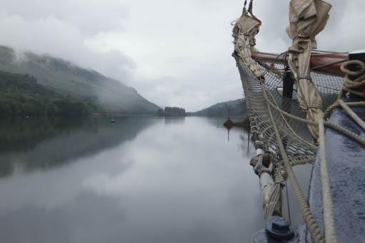 Islands & Highlands Segeltörn zeigt typische Landschaft Schottlands