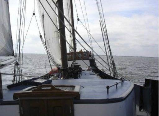 Rad und Schiff Tour 3 zeigt Nahaufnahme der Wapen fan Friesland