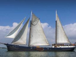 Rad und Schiff zeigt das Schiff Wapen van Friesland