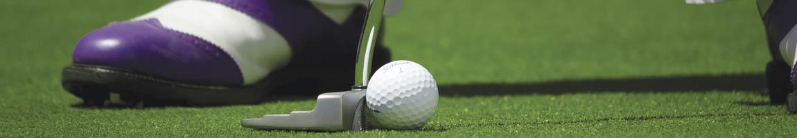 Reise Angebote Sail and Golf zeigt einen Golfball