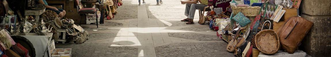 Segeltörn Marokko Bild zeigt einen Basar