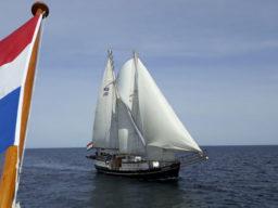 Segeltouren Dänemark zeigt die Meander