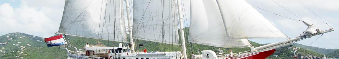 Segeltörn Bermudas Bild zeigt Details der Eldorado