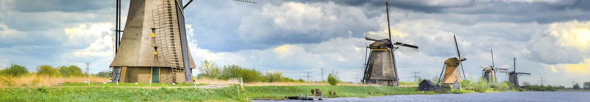 Seereisen Holland Bild zeigt Windmühlen