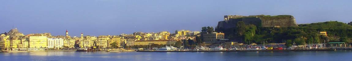 Segeltörn Korfu Bild zeigt Idylle am Meer