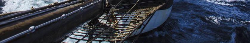 Segeltörn Madeira Bild zeigt Detaills einer Windjammer