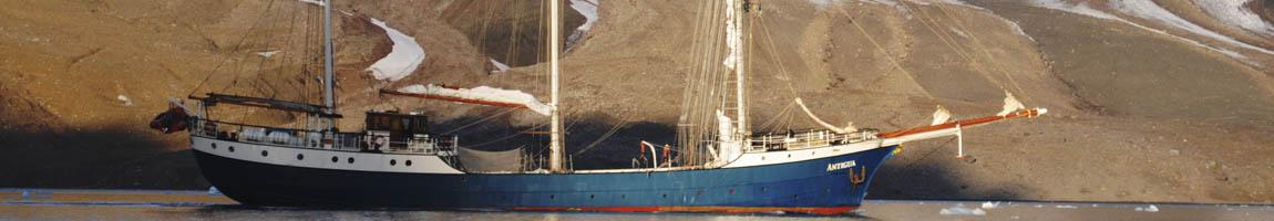 Segeltörn Norwegen Bild zeigt die Atigua vor norwegischer Küste