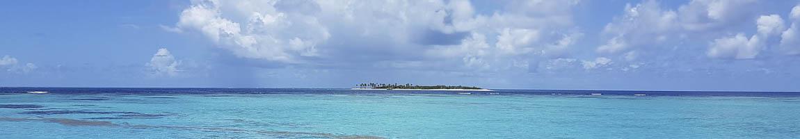 Segeltörn Tobago Cays Bild zeigt eine Lagune