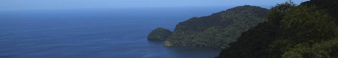 Seereisen Trinidad und Tobago Bild zeigt eine Küstenlinie