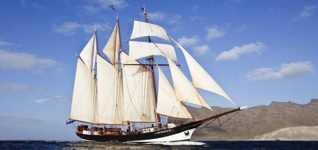3 Mast Segelschiff Oosterschelde