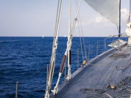 Atlantiksegeln La Linea Teneriffa zeigt Details der Chronos