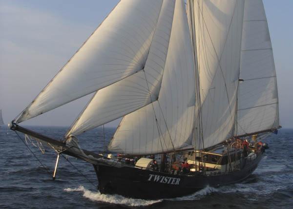 Atlantikueberquerung Expedition Horizon zeigt dieTwister