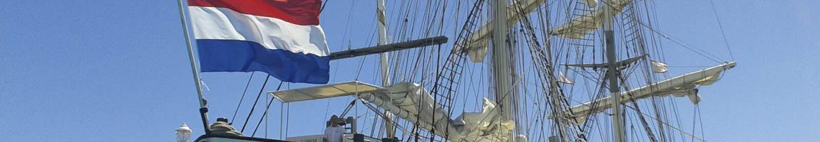 Segelschiffe - Großsegler Liste der Traditionsschiffe zeigt Detail eines Seglers