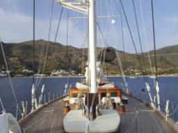 Karibik segeln Rhea zeigt die Segelyacht