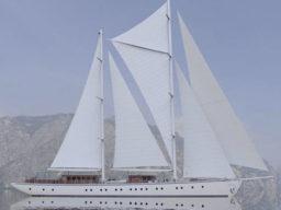 über den Atlantik segeln zeigt die Rhea