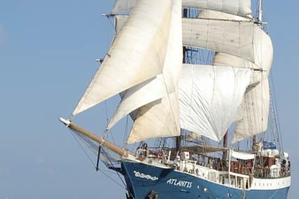 Sail und Bike ab Kiel zeigt die Atlantis