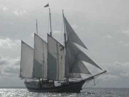 Schnuppertörn Ostsee zeigt die Regina Maris