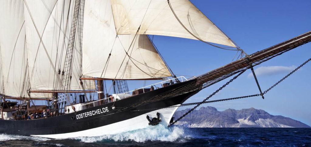 Segelschiff Oosterschelde