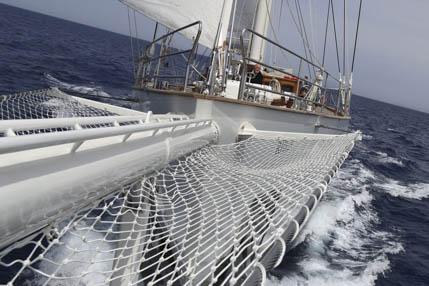 Segelurlaub in Italien zeigt die Segelyacht Rhea