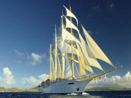 Segelkreuzfahrt Thailand zeigt die Star Clipper
