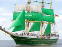 Segeltouren zeigt die Alexander von Humboldt 2