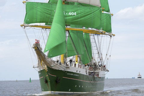 The Tall Ships Races Alexander von Humboldt 2
