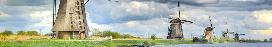 Segeltörn Ijsselmeer mit Skipper zeigt Windmühlen