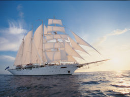 Kreuzfahrt Asien zeigt die Star Clipper