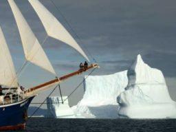 Nordost Groenland zeigt die Rembradt van Rijn