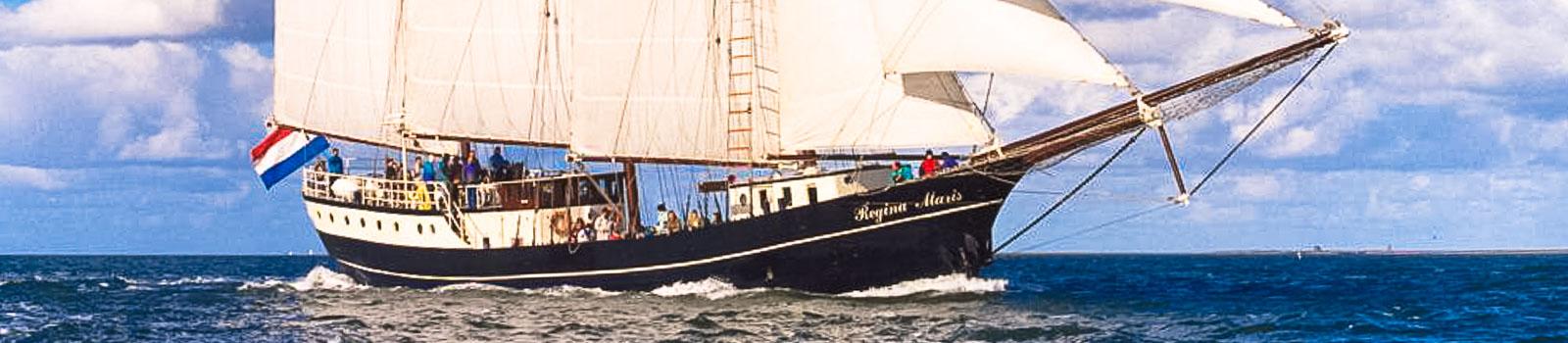 Traditionssegler mieten zeigt Segelschiff