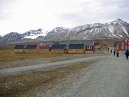 Arktischer Sommer zeigt arktische Landschaft