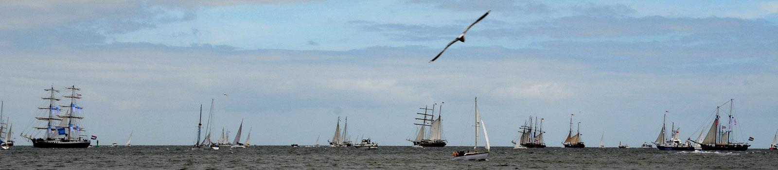 Bild aus Kiel zeigt Windjammer Parade