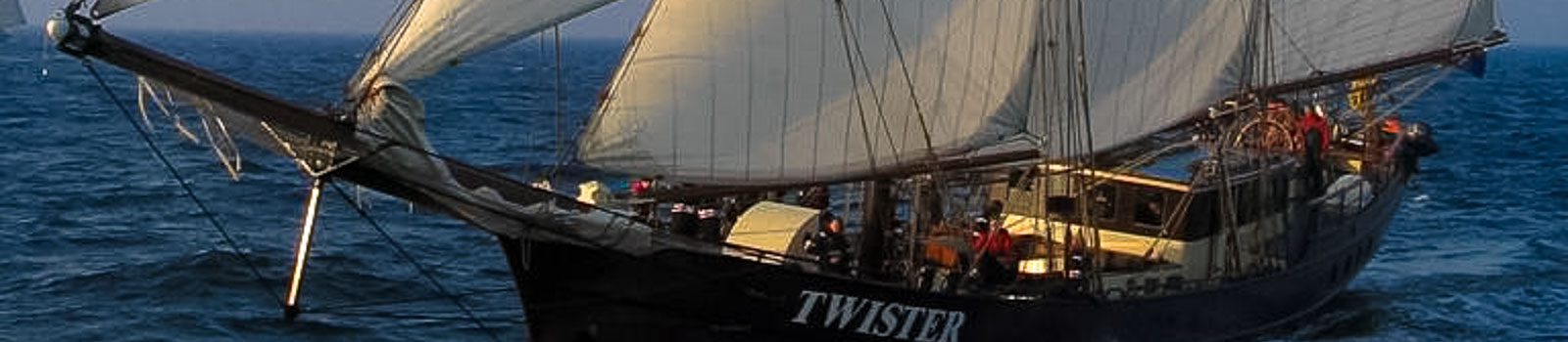 Segeln auf Traditionsseglern zeigt die Twister