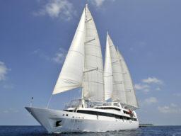 Segelkreuzfahrt Atlantik zeigt die Le Ponant
