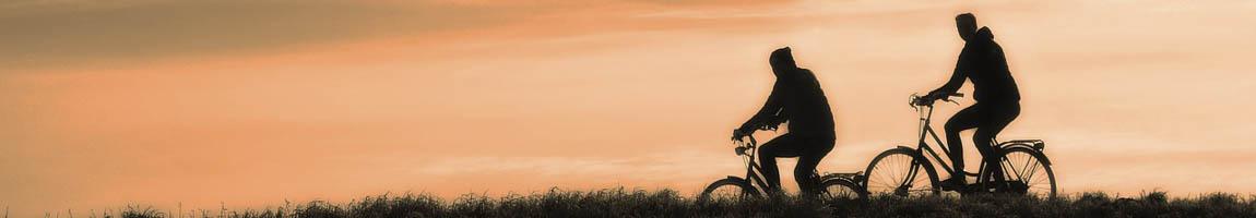 Sail and Bike zeigt Radfahrer