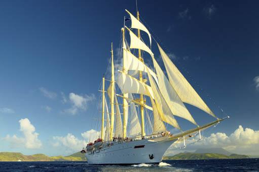 Segelkreuzfahrten Kroatien zeigt die Star Flyer