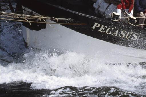 Segelreisen Ostsee - Nordsee zeigt die Pegasus