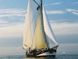 Segelreise Kiel - Stralsund zeigt die Pegasus